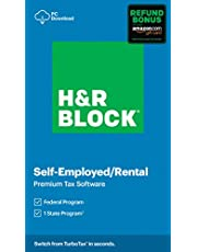 $38 » H&R Block Tax Software Premium 2020 with Refund Bonus Offer (Amazon Exclusive) [PC Download]
