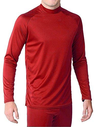 it Long Sleeve Shirt, Scarlet, Youth Medium (Wsi Baseball Shirt)