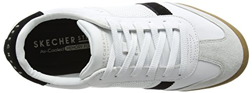 Black Weiß Skechers Herren White Zinger Sneaker 0q0S67aX