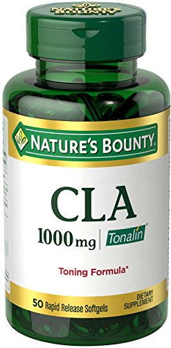 Nature's Bounty Tonalin 1000-CLA, 50 Softgels