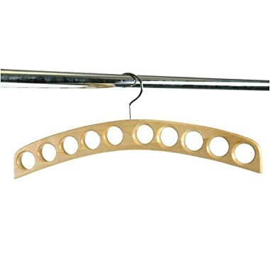 10-Hole Scarf Hanger - (Natural) (16.5  x 6.5  x .75 )