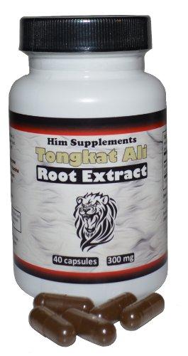 Tongkat Ali 1:200 Root Extract (40 Capsules 300 mg)
