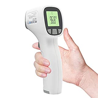 Infrared Thermometer for Adults,(Batteries not Included),Non Contact Digital Forehead Thermometer with Accurate Reading, Baby Thermometer Infrared Forehead Thermometer for Baby Kids & Adults