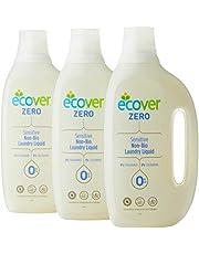 ECOVER Bundle - Zero Laundry Liquid, 1.5L (Pack of 3)