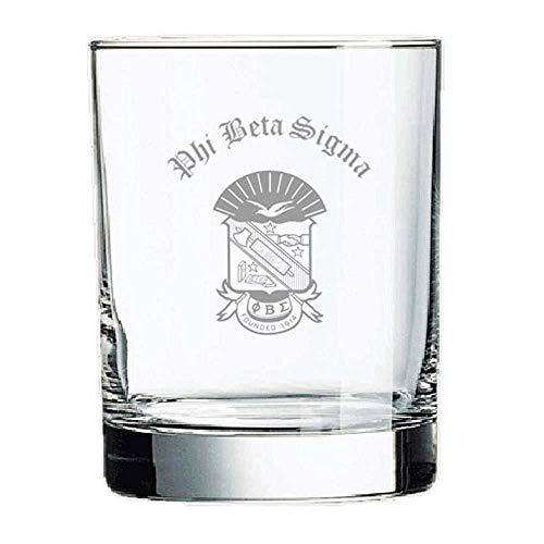 (Phi Beta Sigma Old Style Glass Transparent)