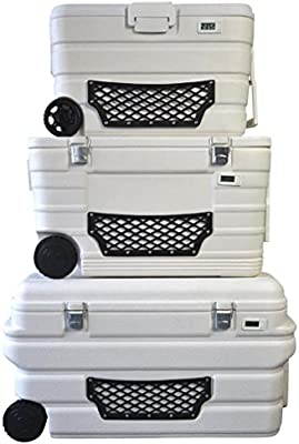 Nevera portátil Eisbox Bolsa nevera con termómetro y ruedas color ...