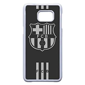 Samsung Galaxy S6 Edge Plus Phone Case White Barcelona DTW8047032