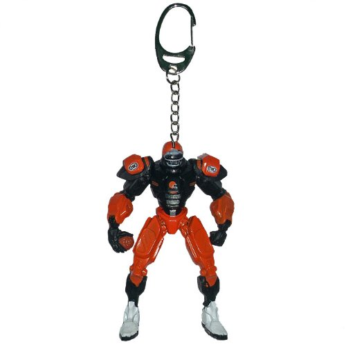 Cleveland Browns Key - NFL Cleveland Browns Fox Sports Team Robot Key Chain, 3-inches