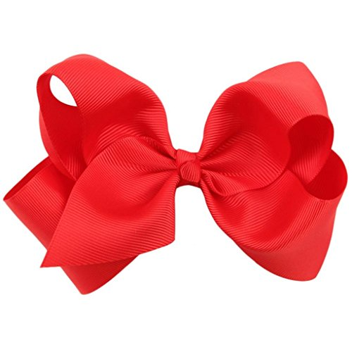 Price comparison product image Bolayu Children's Butterfly Knot Hair Clip (Red)