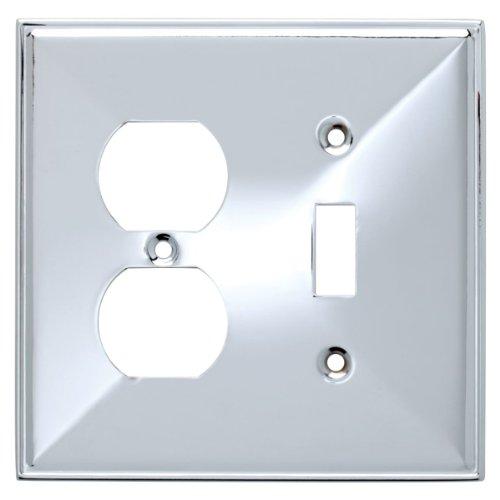 Chrome Single Switch Plates - 8