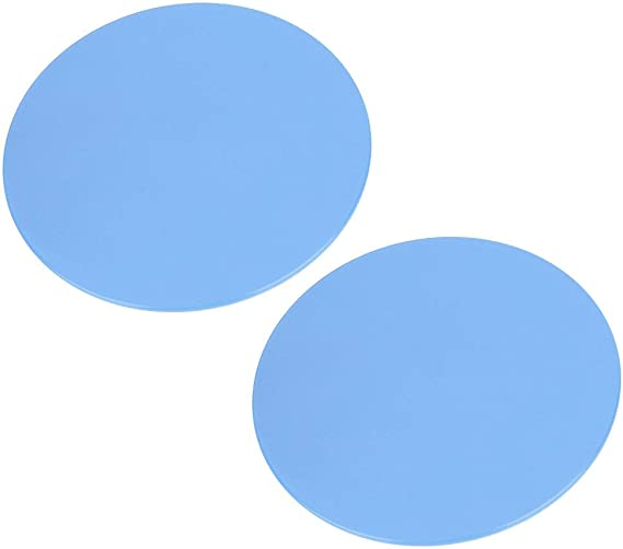 Choice of Colour 2 x Dual Sided Gliding Discs for Use on Carpet and Hard Floors VLFit Core Exercise Sliders