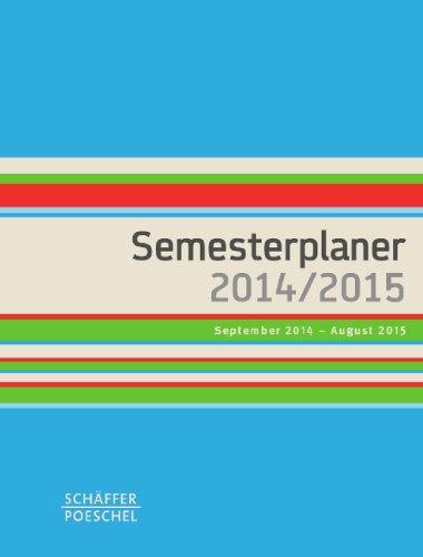 Semesterplaner 2014/2015: September 2014 – August 2015