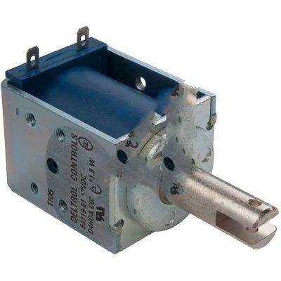 Deltrol Controls 53719-81 Solenoid D4HD Series 12VDC Pull Continuous Duty 11.5W .187 QC