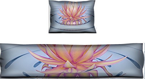 Liili Mouse Wrist Rest and Keyboard Pad Set, 2pc Wrist Support IMAGE ID: 18302019 lotus flower