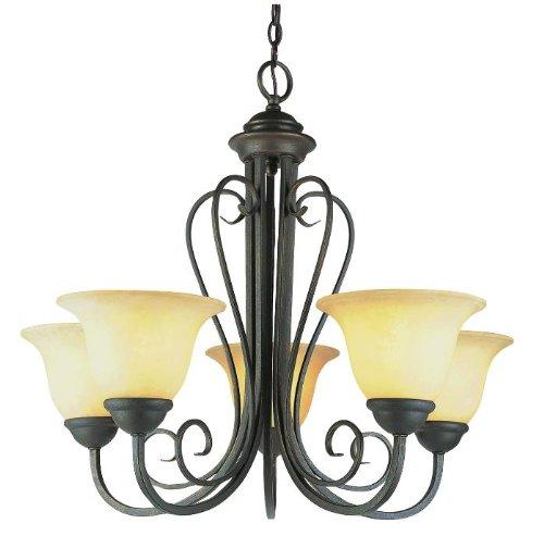Trans Globe Lighting 6525 ABZ Indoor  Laredo 25