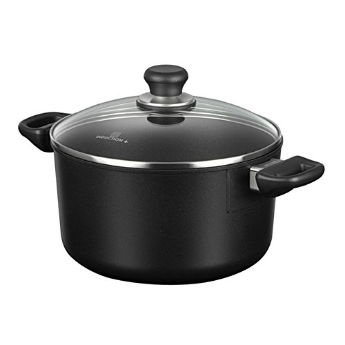 Scanpan Induction Plus Non-Stick Dutch Oven, 6.5 quart, Black