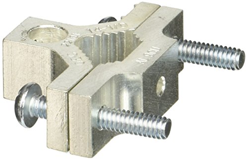 Aluminum Ground Clamps for 0.5-1in. Pipe