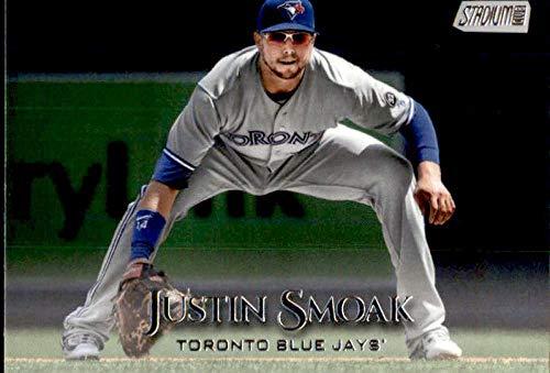 (2019 Topps Stadium Club #237 Justin Smoak Toronto Blue Jays Baseball Card)