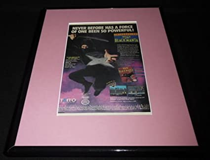 Wrath of the Black Manta 1990 Nintendo NES Framed 11x14 ...