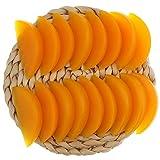 Gresorth 20 PCS Artificial Yellow Peach Slice Fake