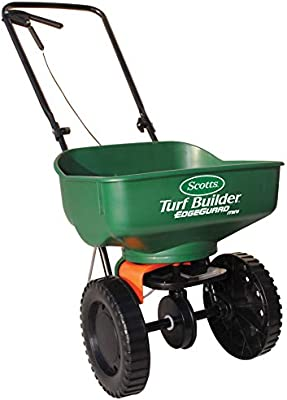 Amazon Com Scotts 76121 Turf Builder Edgeguard Mini Broadcast Spreader Lawn And Garden Spreaders Garden Outdoor