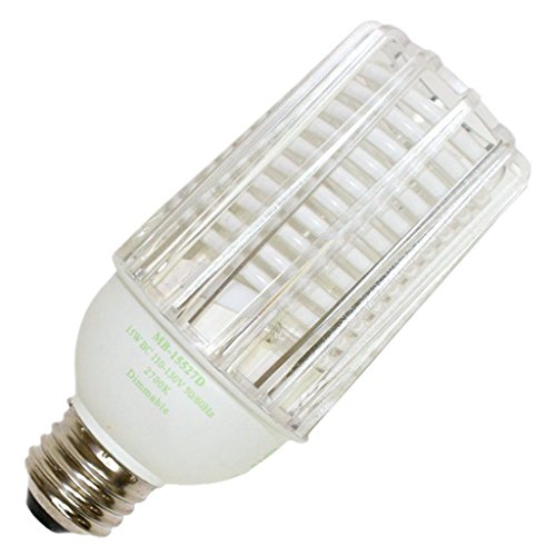 Litetronics 60770 - MB-15527D 15W CCFL MED 120V CL 2700K Dimmable Compact Fluorescent Light Bulb