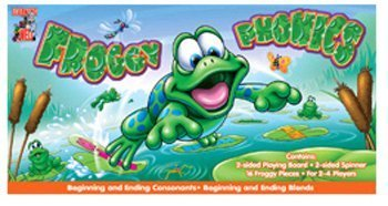 Froggy Phonics Game - Froggy Phonics - Digraphs/Diphthong By Edupress
