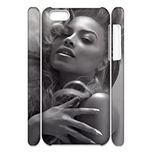 YUAHS(TM) Personalized 3D Hard Back Phone Case for Iphone 5C with Beyonce YAS121596