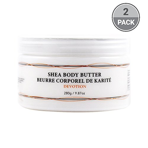 Vivo Per Lei Shea Body Butter Lotion, Leaves Skin Softer to Touch, Devotion (Pack of 2) (Butter Body Touch)