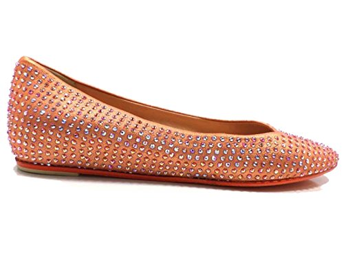 Chaussures Femme EDDY DANIELE 37 ballerines Orange AW466