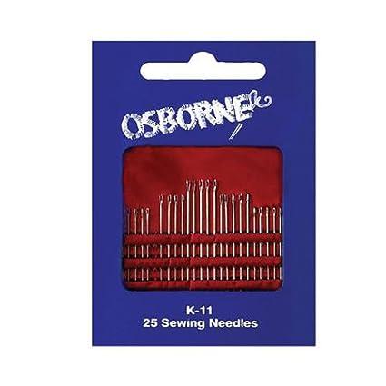C.S. Osborne & Co. No. K-11 - Needle Card (MPN #15028) C. S. Osborne & Co.