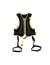 2019 Creative Universal Life Jacket Safety Floating Diving Buoyancy Vest Generic Inflatable Life Jacket Swimming Vest, Practical