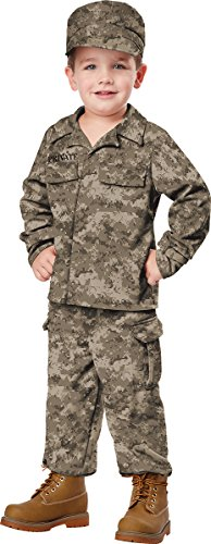 California Costumes Soldier Costume, One Color, 4-6 ()