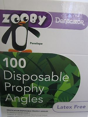 Zoobys Denticator Prophy Angle 100Pk 575010