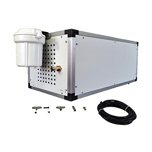 Industrial Mistcooling System - Max 1500 PSI Misting Pump - Stainless Steel Misting Nozzles - For Residential, Commercial , Outdoor Restaurant and Industrial Misting System Application (40 Nozzles)