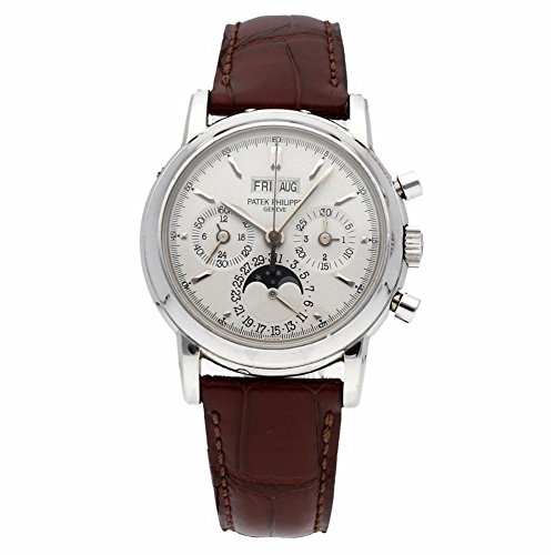 Patek Philippe Grand Complications mechanical-hand-wind mens Watch 3970EP-021 (Certified Pre-owned)