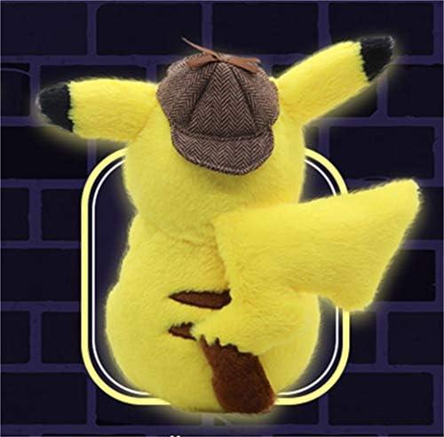 名探偵ピカチュウ ぬいぐるみ ポケットモンスター プレゼント 萌えグッズ かわいい [並行輸入品]