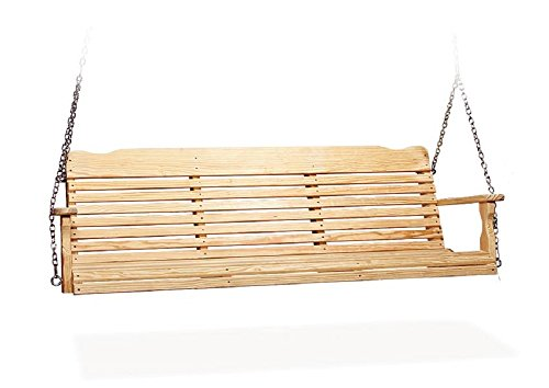 6' Pine Wood Westchester Porch Swing (Natural)