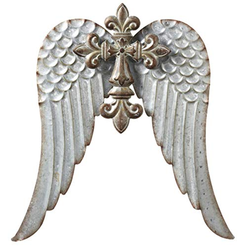 - MIDWEST-CBK, Large Cross with Wings, Metal