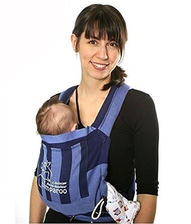 d0a9854608f Amazon.com   GAOAG Chimparoo Mei Tai Baby Carrier -- One Size (AZUR)   Baby