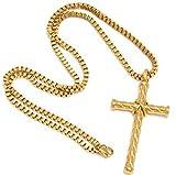 Sunflower Jewellery Huge Big Cross Necklace