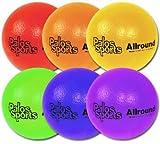 "Palos Sports ""TuffSKIN"" Allround 7'' Foam Dodgeball Set of 6"