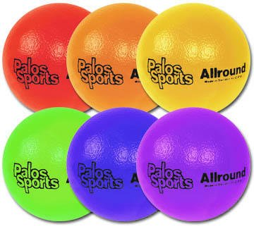"Palos Sports ""TuffSKIN"" Allround 7'' Foam Dodgeball Set of 6 by Palos Sports"