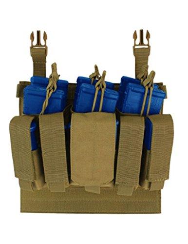 CONDOR VAS Vanquish Armor System Accessories Recon Mag Pouch - Coyote Brown (Armor Systems)