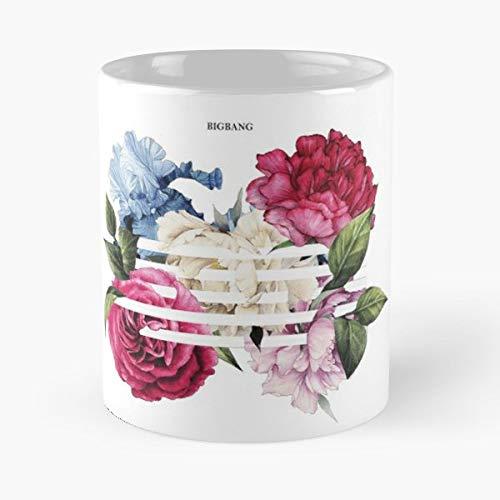 Kpop T Shirt Big Bang One Of A Kind Gd And Top - Morning Coffee Mug Ceramic Novelty Holiday 11 Oz