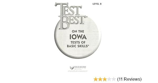 Test Best Itbs Test Workbook Grade 2 Level 8 STECK