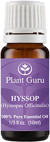 Hyssop Essential Oil 10 ml. 100% Pure, Undiluted, Therapeutic Grade.