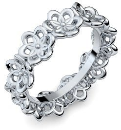Weißgold ring ohne stein  Ring Blume Blumenring Blumig Weißgold Ring 585 + inkl. Luxusetui + ...