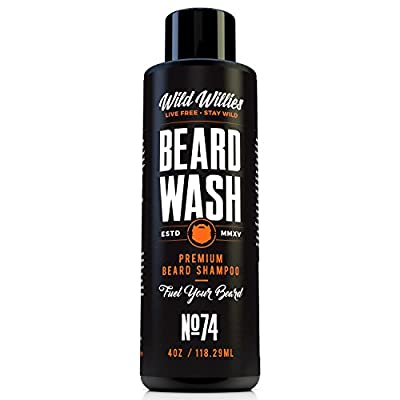 Wild Willie's Beard Wash .The perfect, all natural, organic way to keep your beard clean.