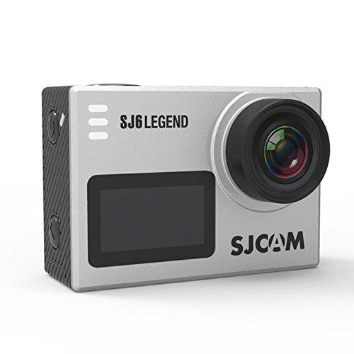 passion オリジナル セット SJCAM SJ6 LEGEND 技適あり 2018年版 正規品 アクション カメラ バッテリー1個追加 4K 動画 広角 166度 Wifi 手ブレ防止 タッチ操作 防水 ◇SJCAM-SJ6 シルバー B07CSL51F1 シルバー シルバー